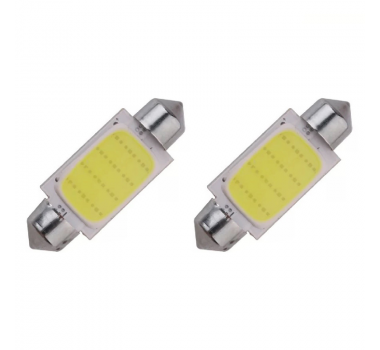 Led Lampada Torpedo 39mm 4smd 5050 Branco - Cinoy