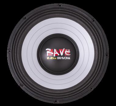 Alto Falante 15 pol Subwoofer Rave 1100wrms - 4 Ohms -Rv15-S4 - Bravox
