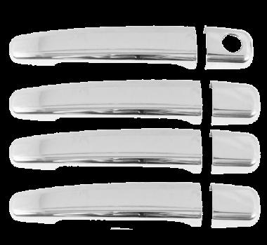 Aplique Cromado Maçaneta C3/ Aircross 15/ 4 portas - Shekparts