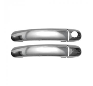 Aplique Cromado Maçaneta Fox-Polo G V/Golf99/Bora - 2 portas - L.O
