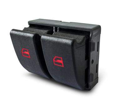 Botao Vidro Eletrico Fox/Gol G4/G5 Duplo 2 Estagios - Dial