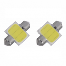 Led Lampada Torpedo 31mm 4smd 5050 Branco