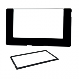 Moldura Painel 2 Din Corolla 17/18 Black Piano - Fiamon