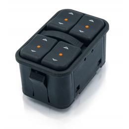 Botao Vidro Eletrico Corsa/Celta/Astra Quadruplo-Dial