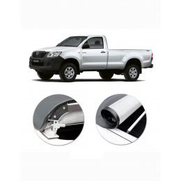 Capota Hilux 2005/ Cabine Simples C/ Estepe Flash Force - Flash Cover