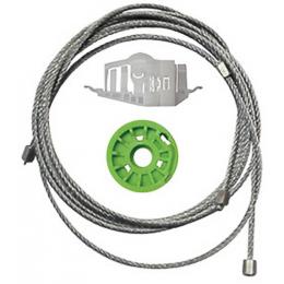Kit Reparo de Máquina de Vidro Elétrico Idea 2006/ 4p Diant. L.E - Vpl
