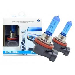 Lampada Super Branca H11 55/60w 8500k - Techone