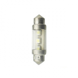 Led Lampada Torpedo 36mm Azul 12v-Atp