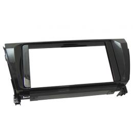 Moldura Painel Corolla 2 Din 2014 Xei/Altis Black Piano - Fiamon