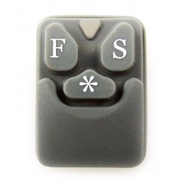 Teclado Controle Rem. Sistec Sx 40 Novo Cinza